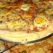 Receita de Pizza caseira simples