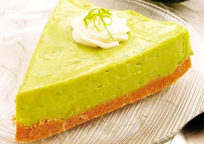 Receita de torta de abacate