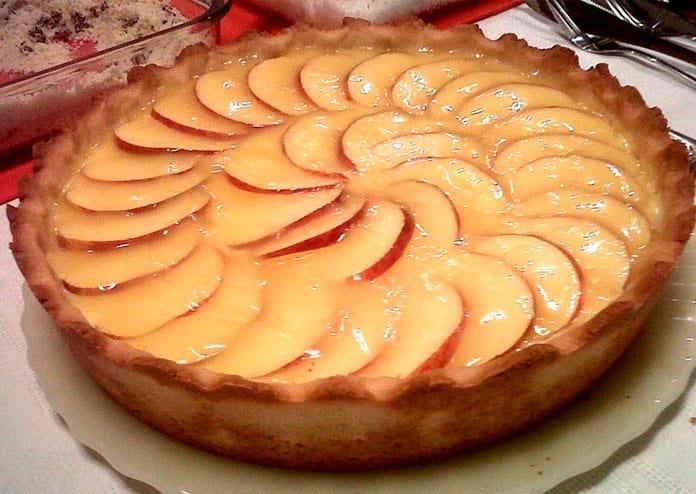 Receita de Torta de maçã com creme