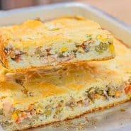 Receita de Torta de sardinha de liquidificador