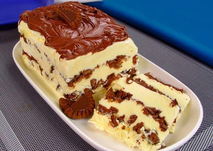 Receita de Torta de sorvete com nutella
