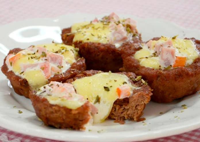 Receita de Tortinhas de Carne Moída
