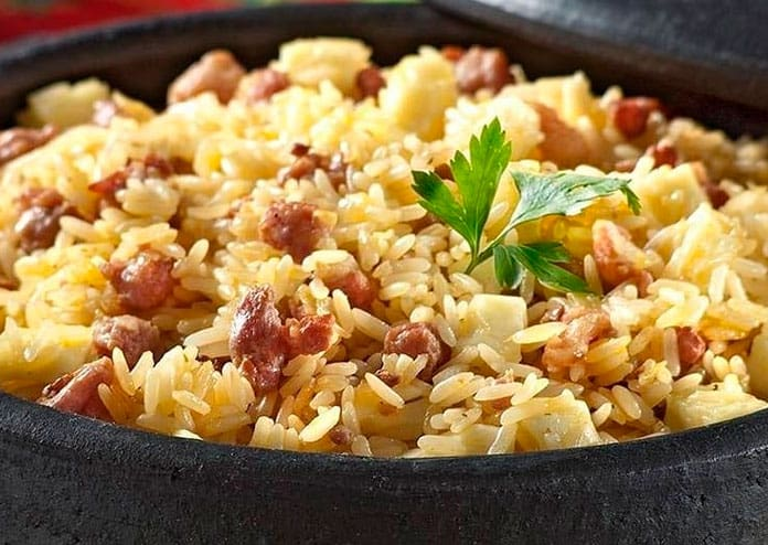 Receita de arroz com toscana