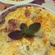 Receita de Filé Mignon ao molho quatro queijos