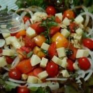 Receita de Salada de Natal