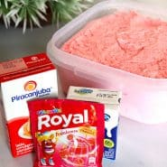Receita de Sorvete caseiro de gelatina