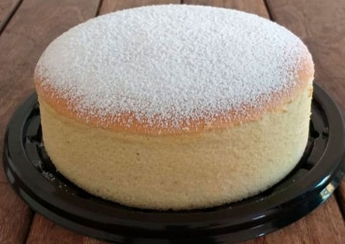 Receita de bolo japonês butter cake