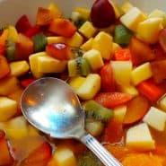 Receita de Salada de frutas simples