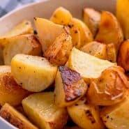 Receita de Batatas com Limão e Manteiga
