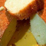 Receita de Bolo de manteiga