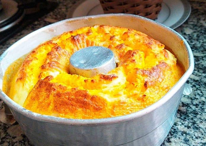 Receita de bolo de milho sem farinha
