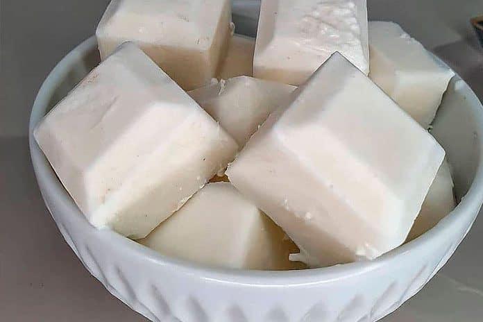 Receita de docinho de coco gelado