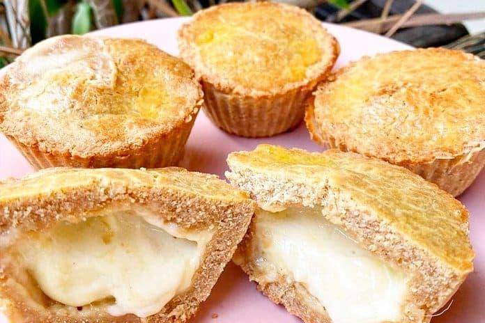 Receita de empadinha low carb com queijo
