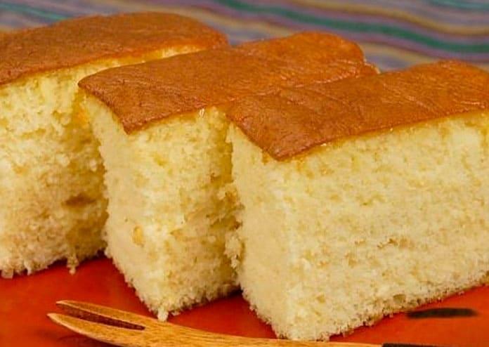 Receita de pão de ló mel