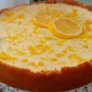 Receita de Torta mousse de limão siciliano