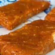 Receita de Barra de proteína caseira