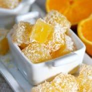 Receita de Docinho de laranja