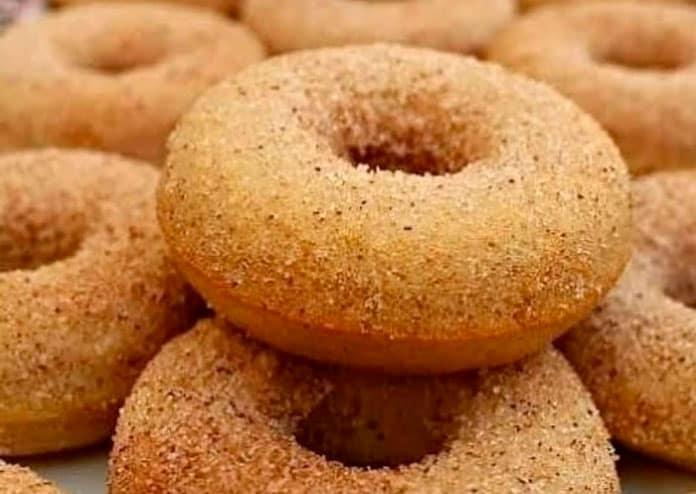 Receita de Donuts de canela