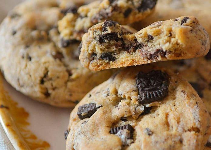 Receita de Cookies de Biscoito Óreo