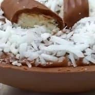 Receita de Ovo de Páscoa com recheio de Prestígio