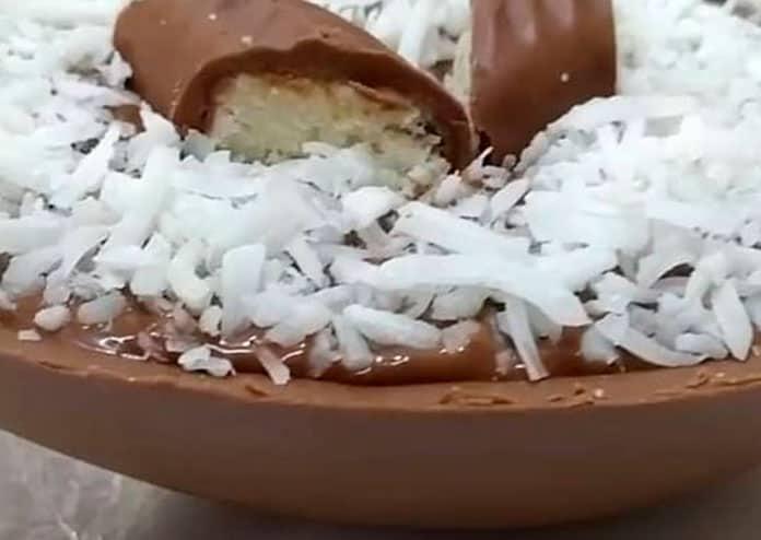 Receita de Ovo de Páscoa Prestígio