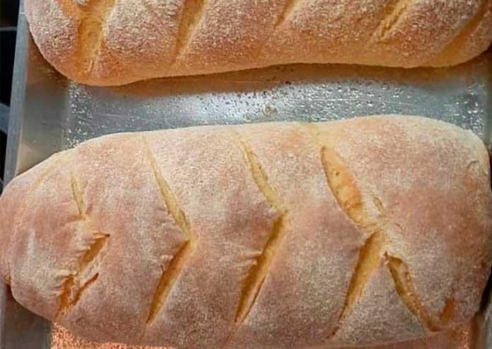 Receita de Pão de Fubá sem sovar
