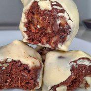 Receita de Trufa de tâmara e chocolate branco