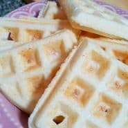 Receita de Waffle de queijo