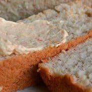 Receita de Pão de mandioca e farinha de arroz