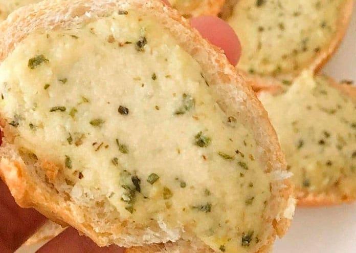 Receita de Pasta de alho vegana